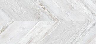 Пробковый пол Corkstyle Chevron White (click) 10 мм