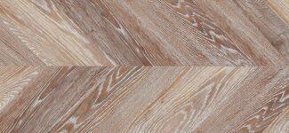 Пробковый пол Corkstyle Chevron Brown (glue) 6 мм