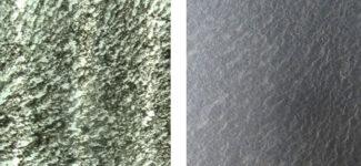 Прозрачный каменный шпон Leaf Stone Galaxy Black