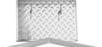 Ревизионный люк Делайт напольный съемный «Шлюз» Серия ЛН ЛН0006060