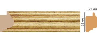 "Багет Decomaster ""Ренессанс"" от 20 до 49мм 651-176S"